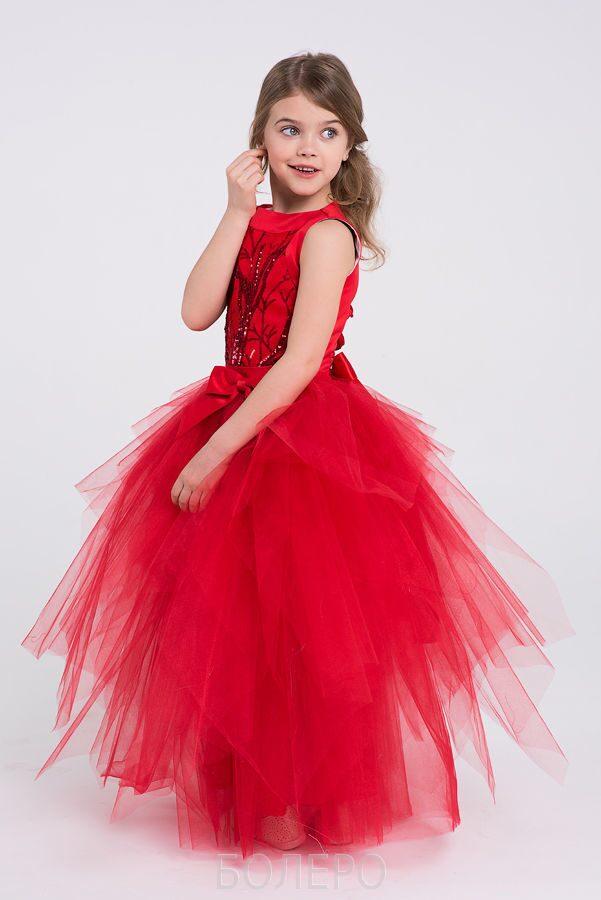 Платье красное в горох спб